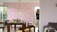 Vorschau: Blumenwiese rosa Kinderwelt - A.S. Creation Papier-Tapete