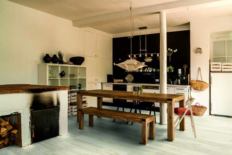 modern oak beige tarkett starfloor click 55 vinyl planken. Black Bedroom Furniture Sets. Home Design Ideas