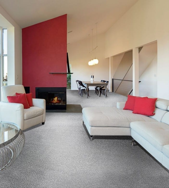 Satino Romantica 97 ITC 4M Breite - Teppichboden Hochflor