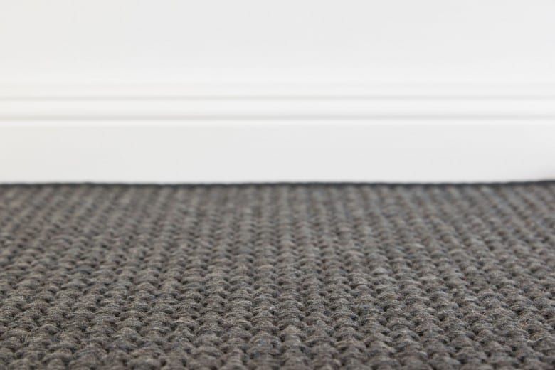 Bentzon Kolding 069091 Schwarz - gewebter Teppichboden