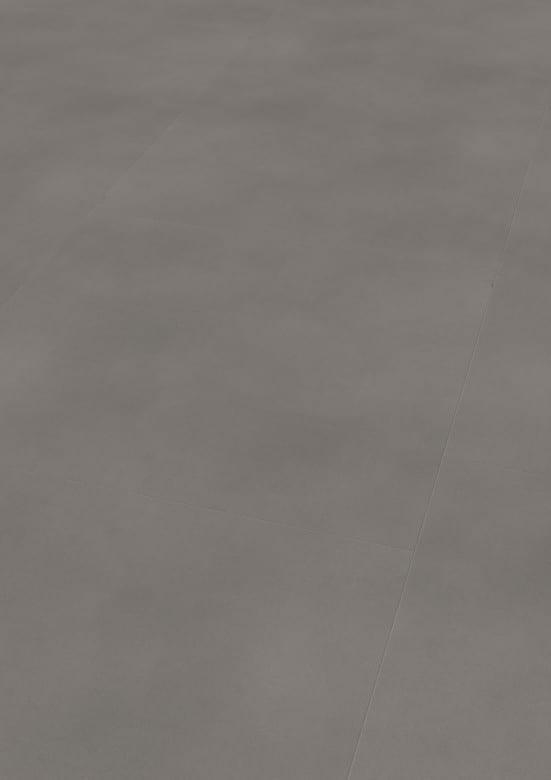 Solid Grey - Wineo 800 Tile XL Vinyl Fliesen zum Kleben