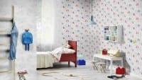 Vorschau: Vincelot Drache Grau - Rasch Papier Kindertapete