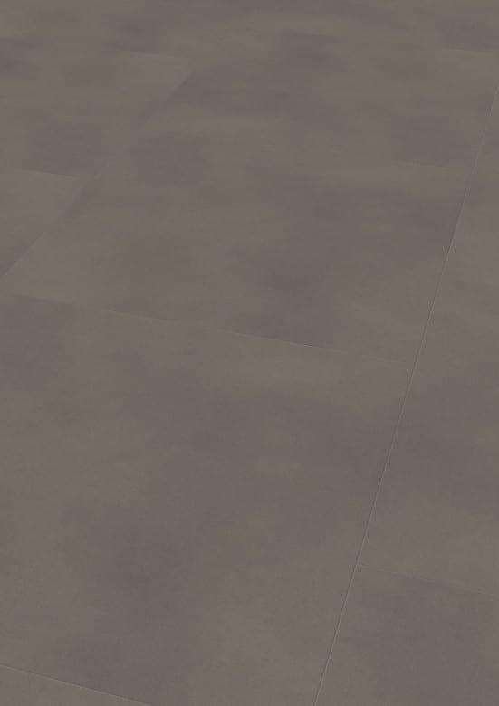 Solid Taupe - Wineo 800 Tile XXL Vinyl Fliesen zum Kleben