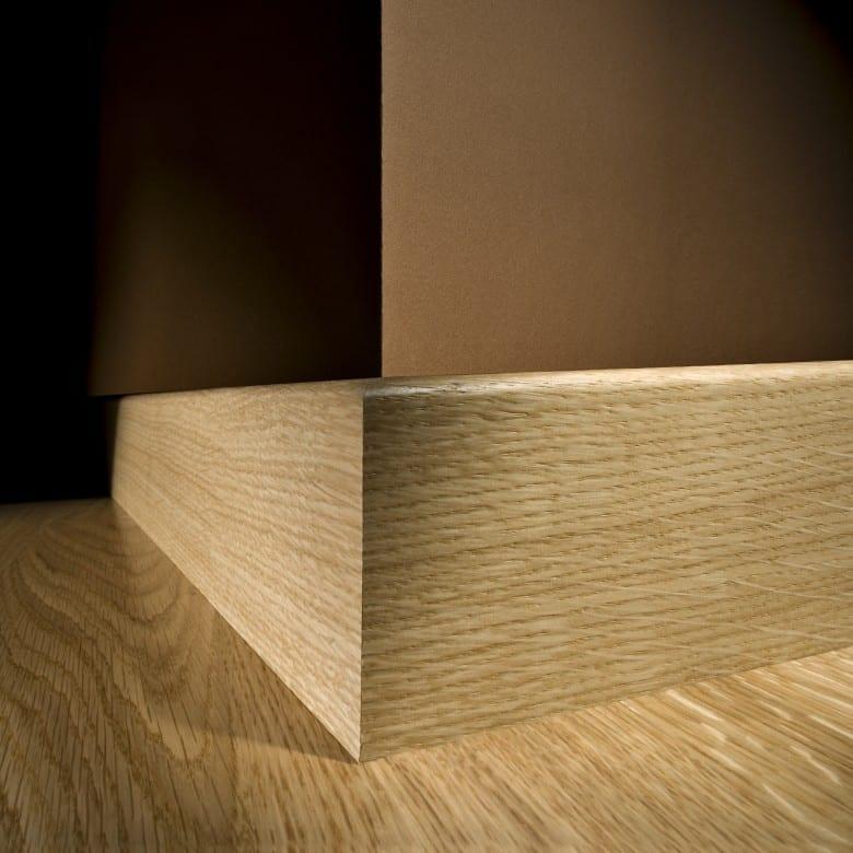 Kährs Sockelleisten Furniert 16 x 60 mm (ab 4,58€/lfm)