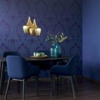 Vorschau: Floral violett - Rasch Vlies-Tapete