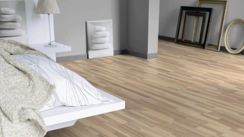 Esche Melange 3-Stab Tarkett Shade - Parkett Schiffsboden matt lackiert