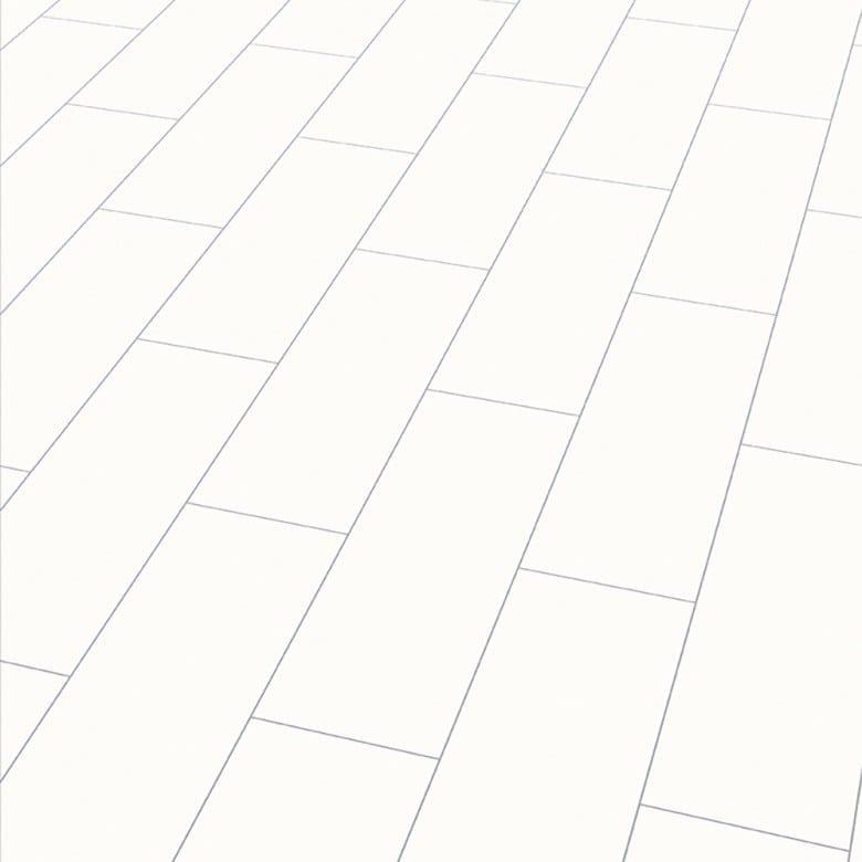 Color white Arktis Elesgo Wellness V5 - Laminat Fliesenoptik