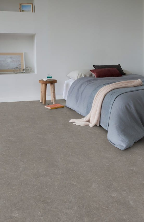 vinylboden kleben in dunkler betonoptik bis 50 rabatt. Black Bedroom Furniture Sets. Home Design Ideas