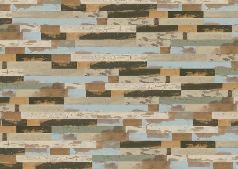 Patchwork - Wineo 600 Wood Vinyl Planke zum Kleben
