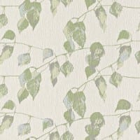 Vorschau: Blätter Grün - Rasch Vlies-Tapete Floral