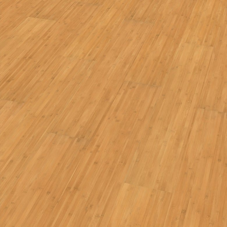 Bambus gedämpft Elesgo Glattkante - Laminat Holzoptik Hochglanz
