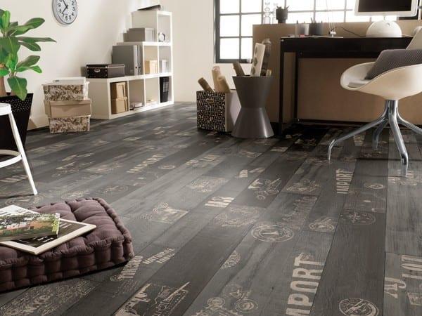 Tarkett Trend Travel Wood Black - PVC - Belag Tarkett Trend