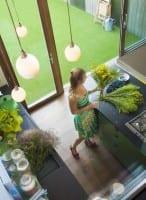 Vorschau: Garden Grün mit Noppen - Orotex Kunstrasen