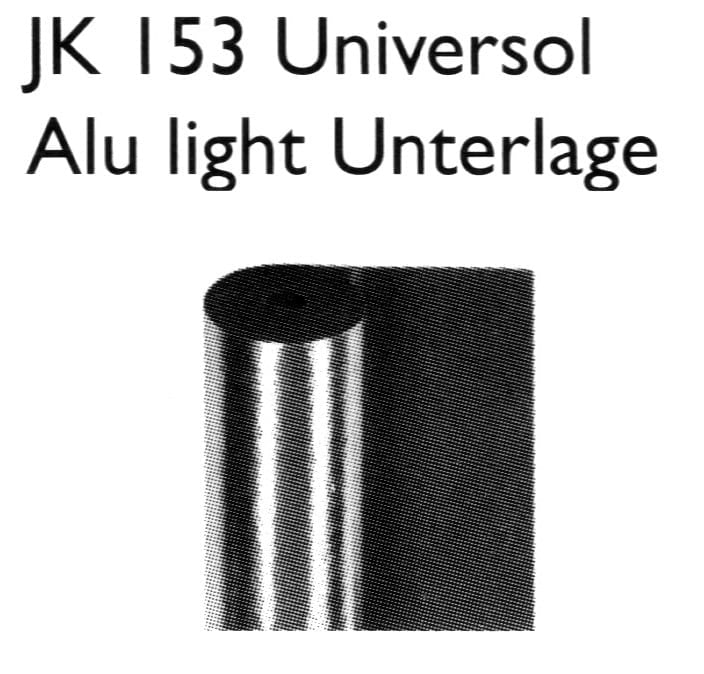 JK 153 Universol Alu light Unterlage - Joka