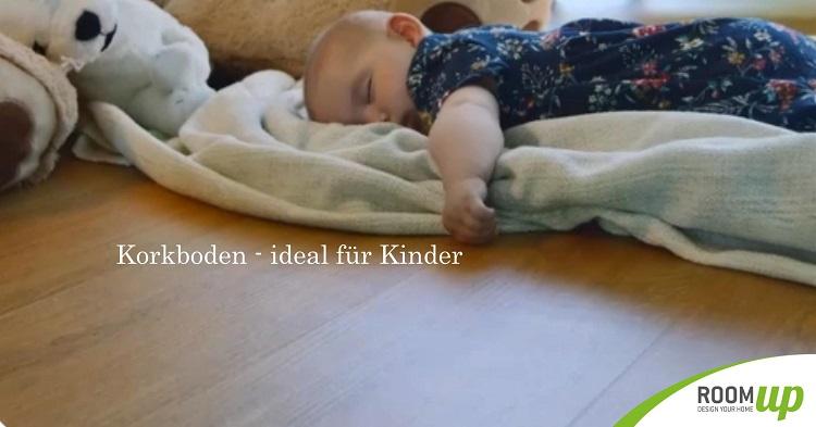 Korkboden im Kinderzimmer verlegen