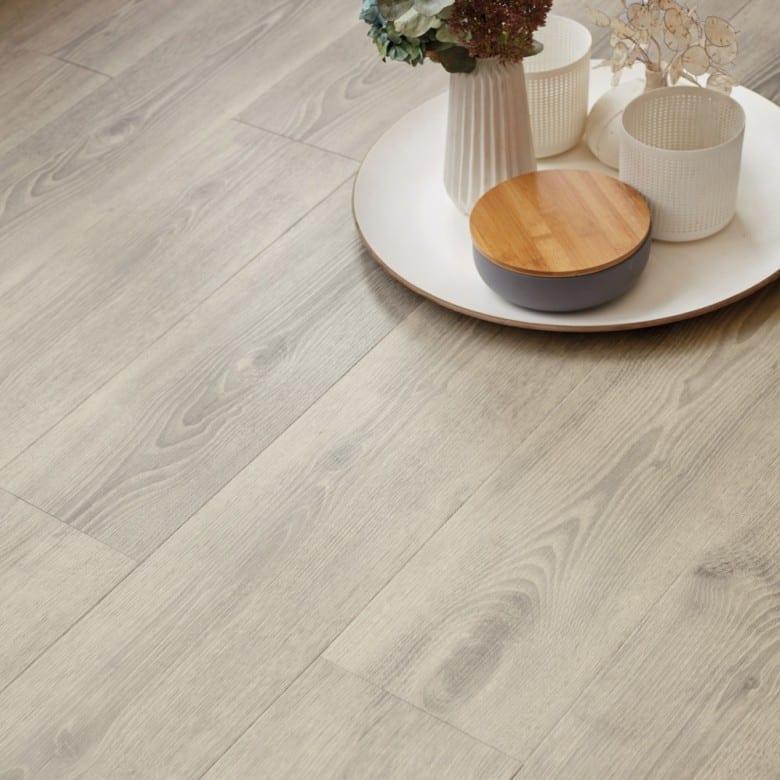scandinavian oak medium grey tarkett starfloor click 55. Black Bedroom Furniture Sets. Home Design Ideas