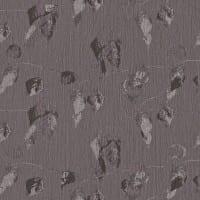 Vorschau: Blätter Dunkel - Rasch Vlies-Tapete Floral