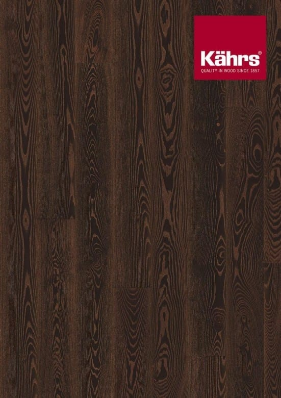 Esche Black Copper XL-Dielen Metallic- Kährs Parkett Shine Collection