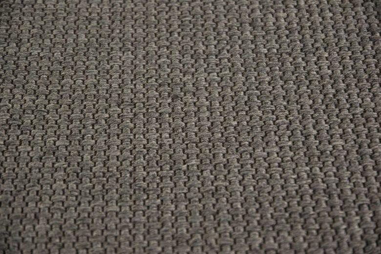 Bentzon Elba Duo 212009 Dunkelgrau - gewebter Teppichboden