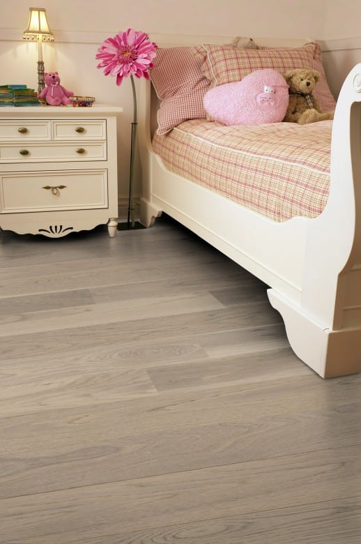 Eiche Cream White LHD Tarkett Shade - Parkett Landhausdiele matt lackiert