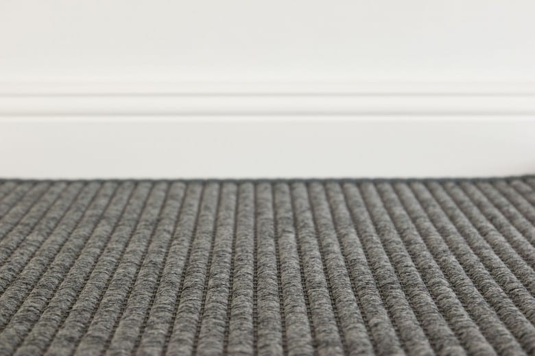 Bentzon Como 008009 Dunkelgrau - gewebter Teppichboden