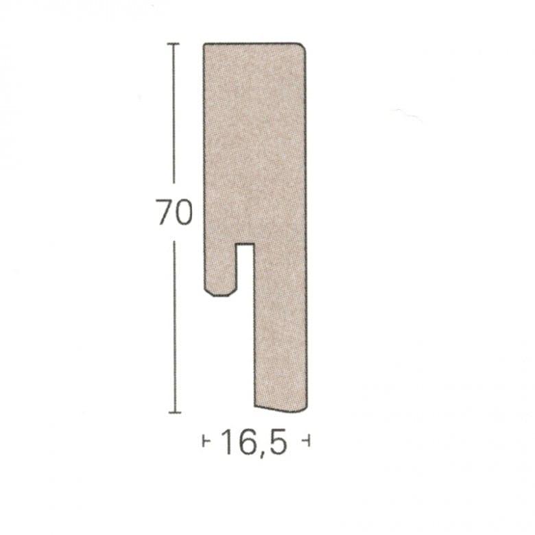 Parador Parkett Sockelleiste SL18 (ab 3,85 €/lfm)