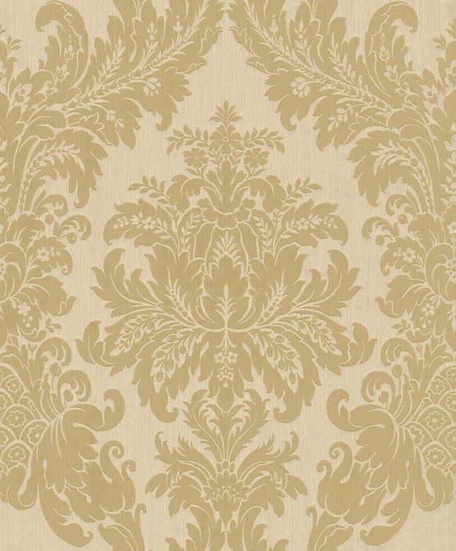 Floral gold - Rasch Vlies-Tapete