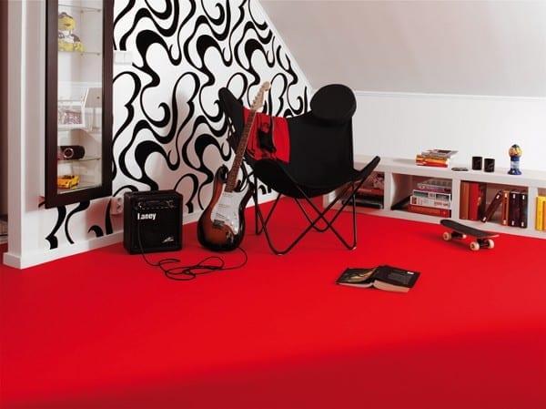 Tarkett Trend DJ Red - PVC Boden Tarkett Trend